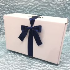Flower Girl Box with Satin Ribbon